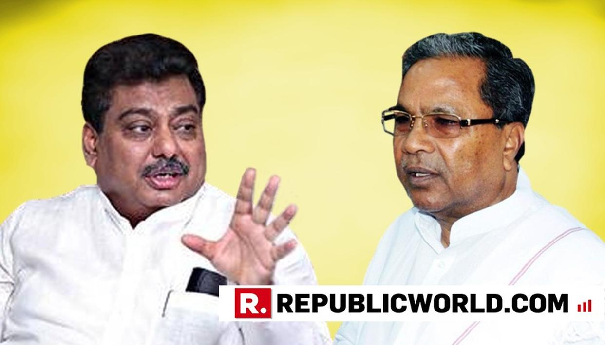 SIDDARAMAIAH  HAS HIS WAY AGAIN, CLOSE AIDE MB PATIL GIVEN HOME PORTFOLIO