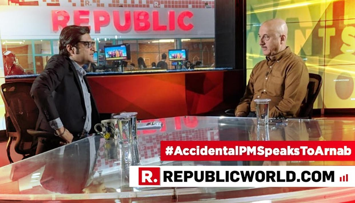 WATCH: 'CONGRESS IS NOT MY ENEMY', SAYS ANUPAM KHER