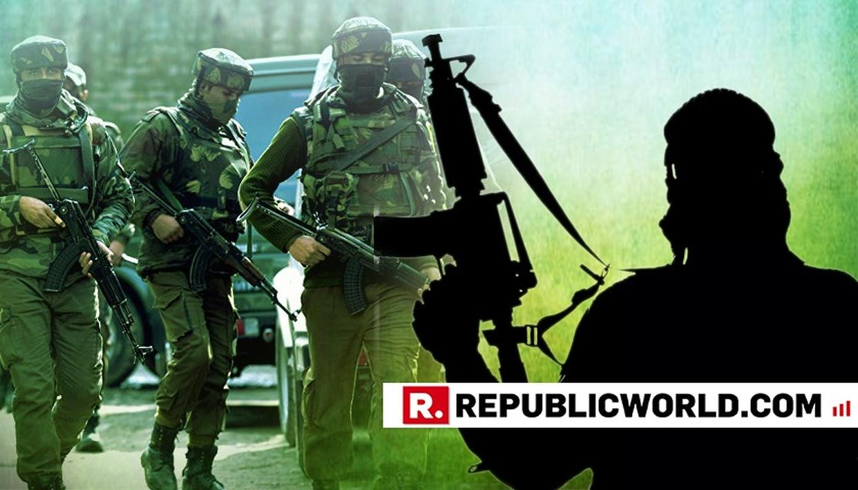 FOUR TERRORISTS GUNNED DOWN IN PULWAMA