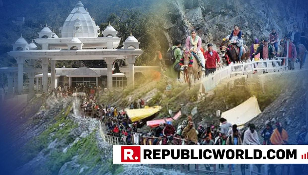 VAISHNO DEVI SHRINE EXPECTED TO RECEIVE 85 LAKH PILGRIMS THIS YEAR, HIGHEST IN 5 YEARS