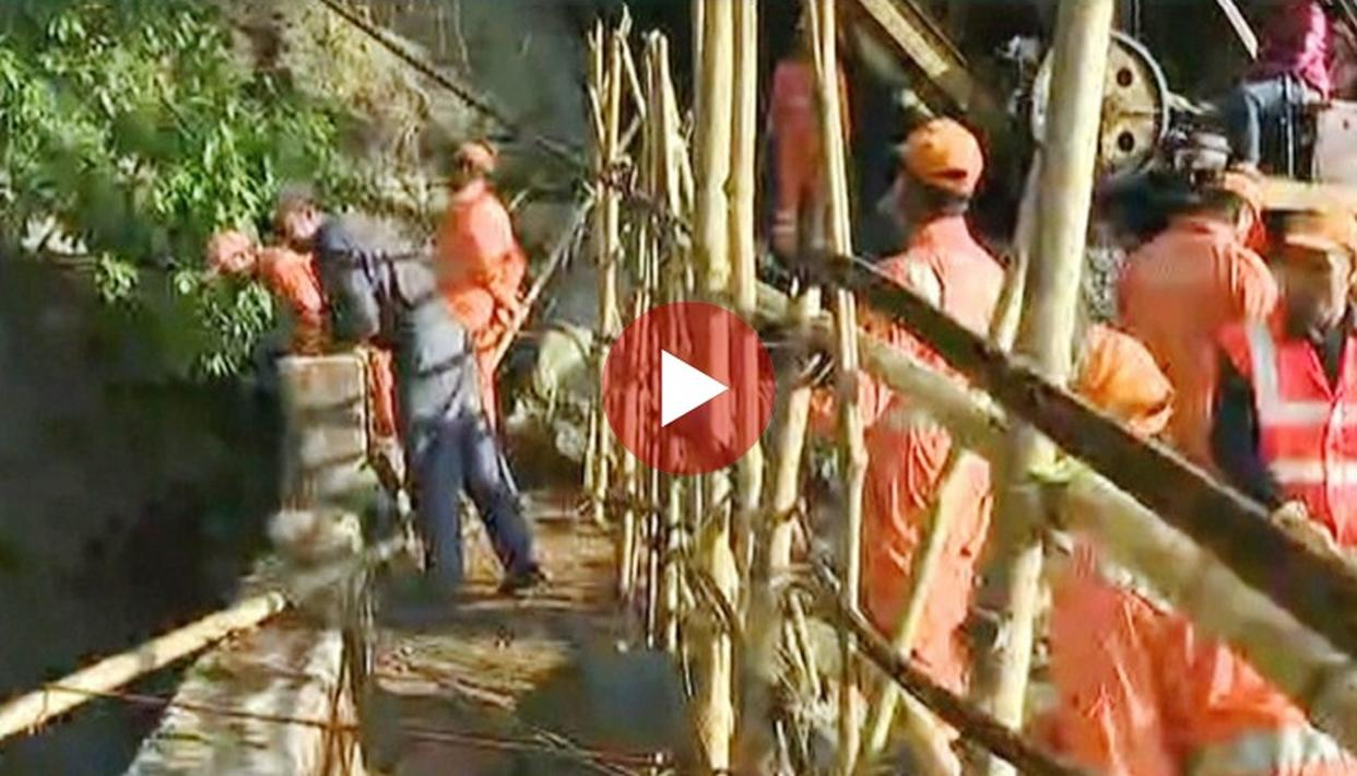 WATCH: A GROUND REPORT OF THE LATEST RESCUE OPERATIONS FOR MINERS TRAPPED IN EAST JAINTIA HILLS, MEGHALAYA