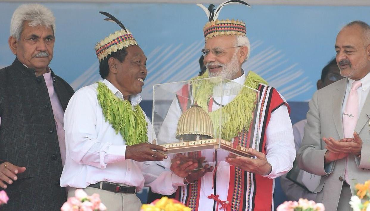 GOVT WORKING TO ENSURE BETTER FACILITIES FOR ANDAMAN: MODI