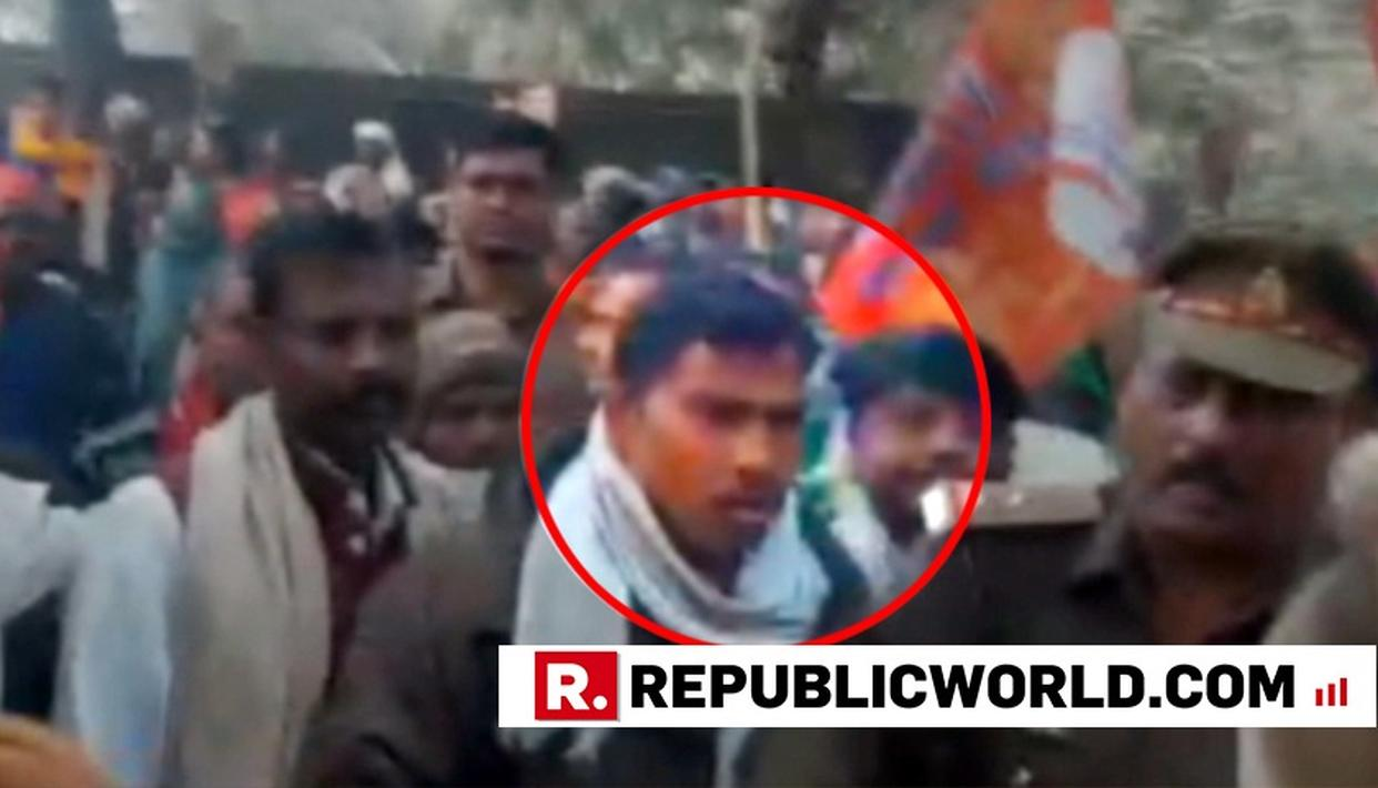 GHAZIPUR VIOLENCE | WATCH: NISHAD PARTY GEN SEC ARGUING WITH POLICE BEFORE THE CLASH