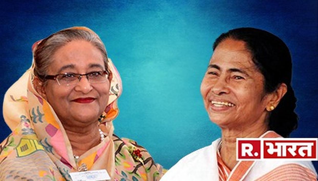 चुनाव में फतेह के बाद CM ममता ने शेख हसीना को दी बधाई