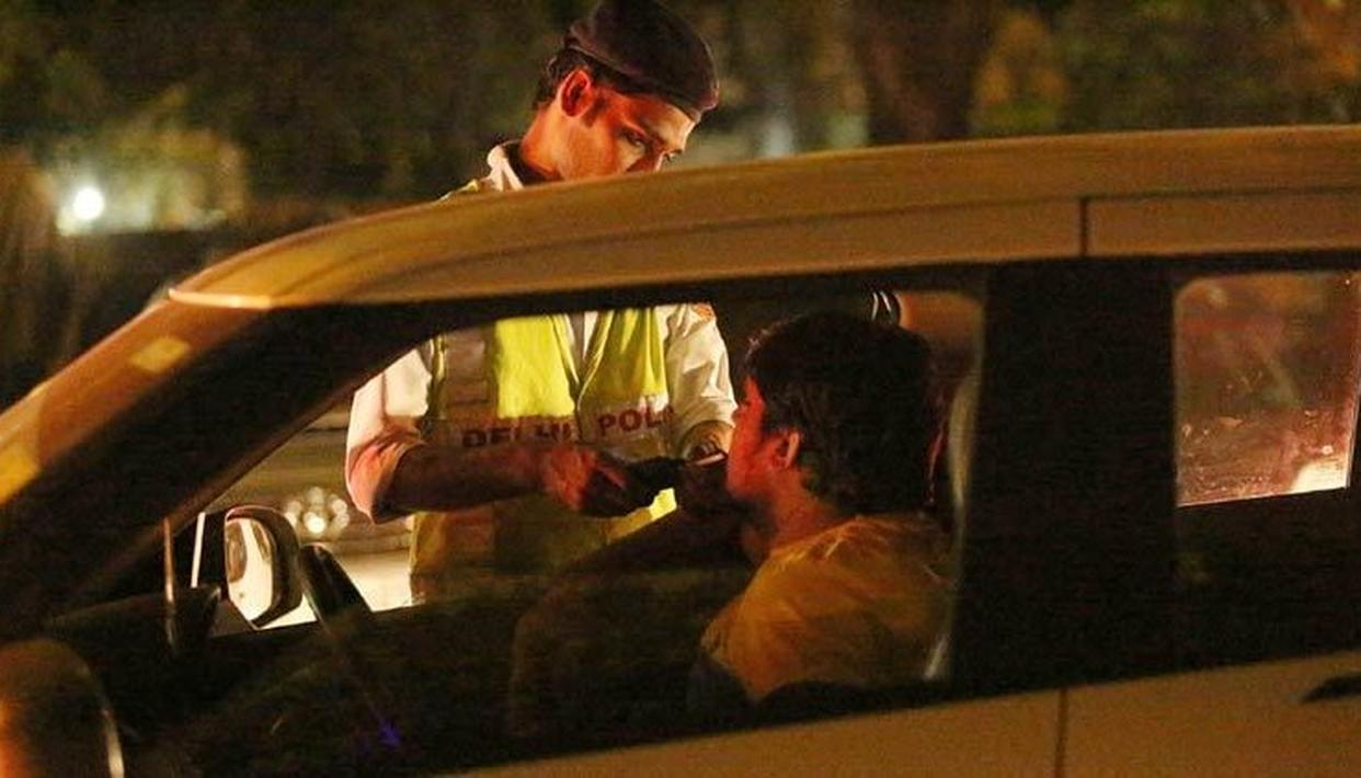 509 DRINK-DRIVING CHALLANS ISSUED BY DELHI POLICE ON NYE