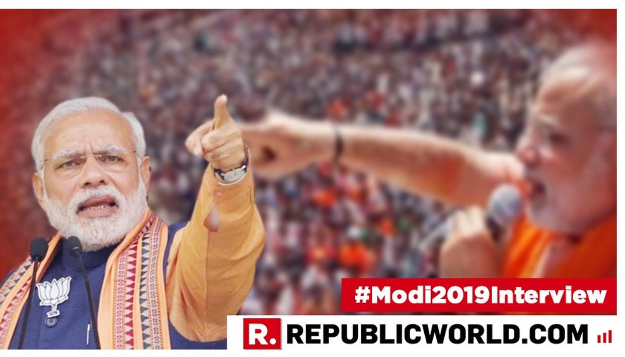 WATCH: IS THE MODI WAVE OVER? HERE'S WHAT PRIME MINISTER NARENDRA MODI HAS TO SAY ABOUT THE 'BJP NOT CROSSING 180 SEATS IN 2019' THEORY