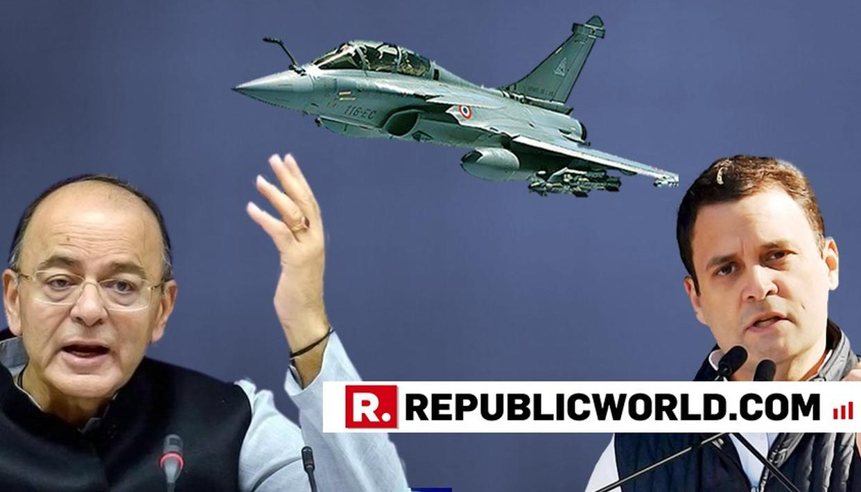 HERE ARE THE UNEXPECTED REFERENCES JAITLEY MADE IN HIS SCATHING RESPONSE TO RAHUL GANDHI IN LOK SABHA