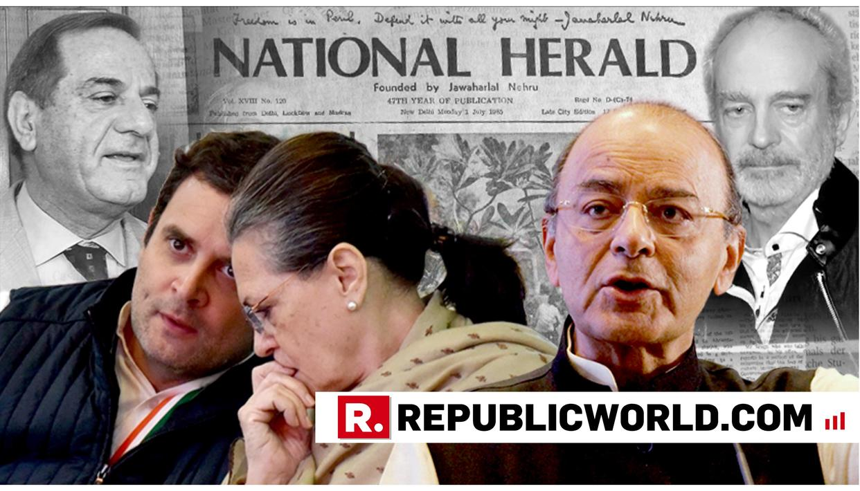 """UPA DID NOT UNDERSTAND NATIONAL SECURITY, ONLY UNDERSTOOD PAISA,"" SAYS ARUN JAITLEY CENSURING GANDHI FAMILY FOR INVOLVEMENT IN 3 SCAMS"