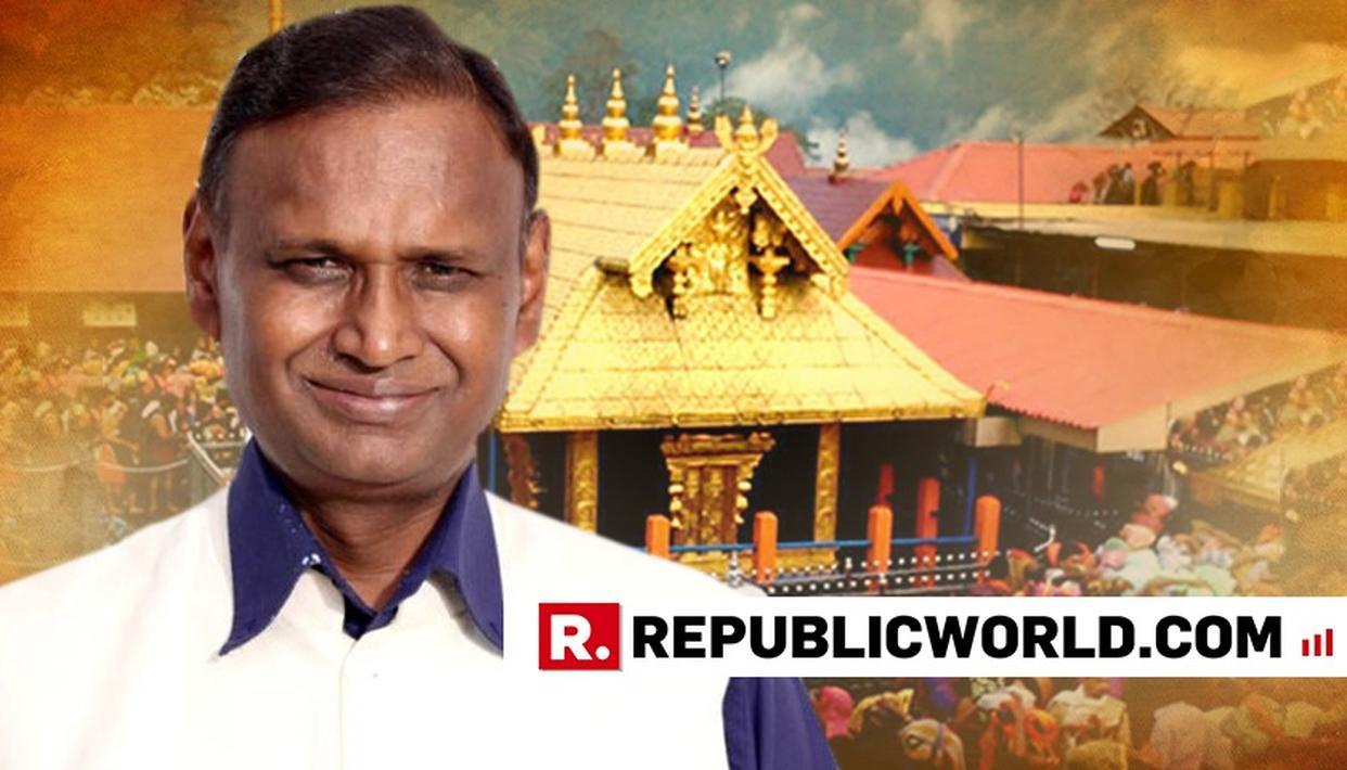 BJP MP UDIT RAJ WELCOMES WOMEN'S ENTRY IN SABARIMALA TEMPLE