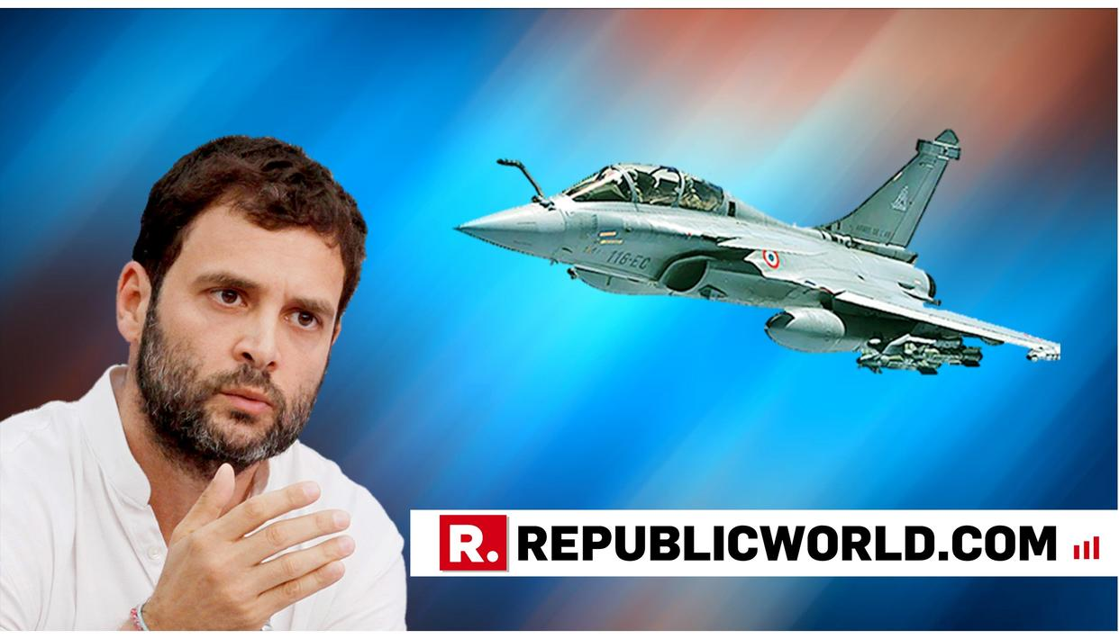 RAHUL GANDHI FIRST THREATENS TO PLAY RAFALE AUDIO TAPE IN LOK SABHA, THEN WITHDRAWS