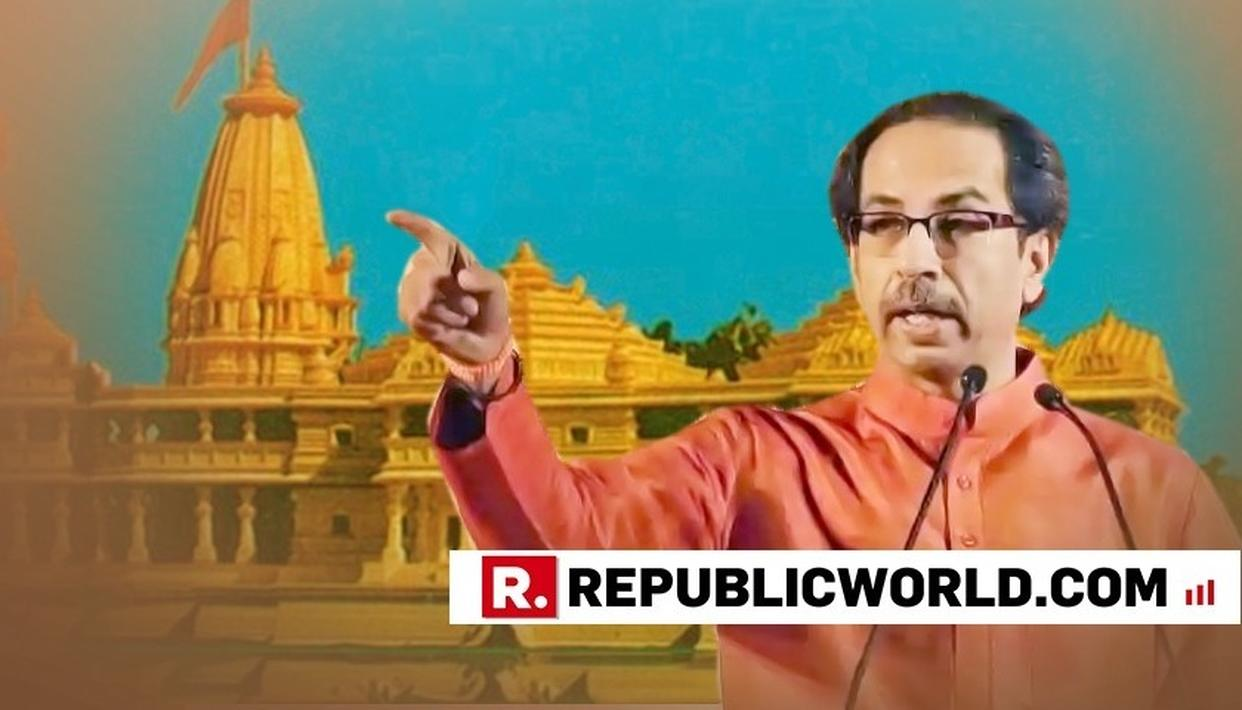 IF RAM TEMPLE CAN'T BE BUILT DURING BJP GOVT TENURE, WHEN WILL IT BE, ASKS SENA