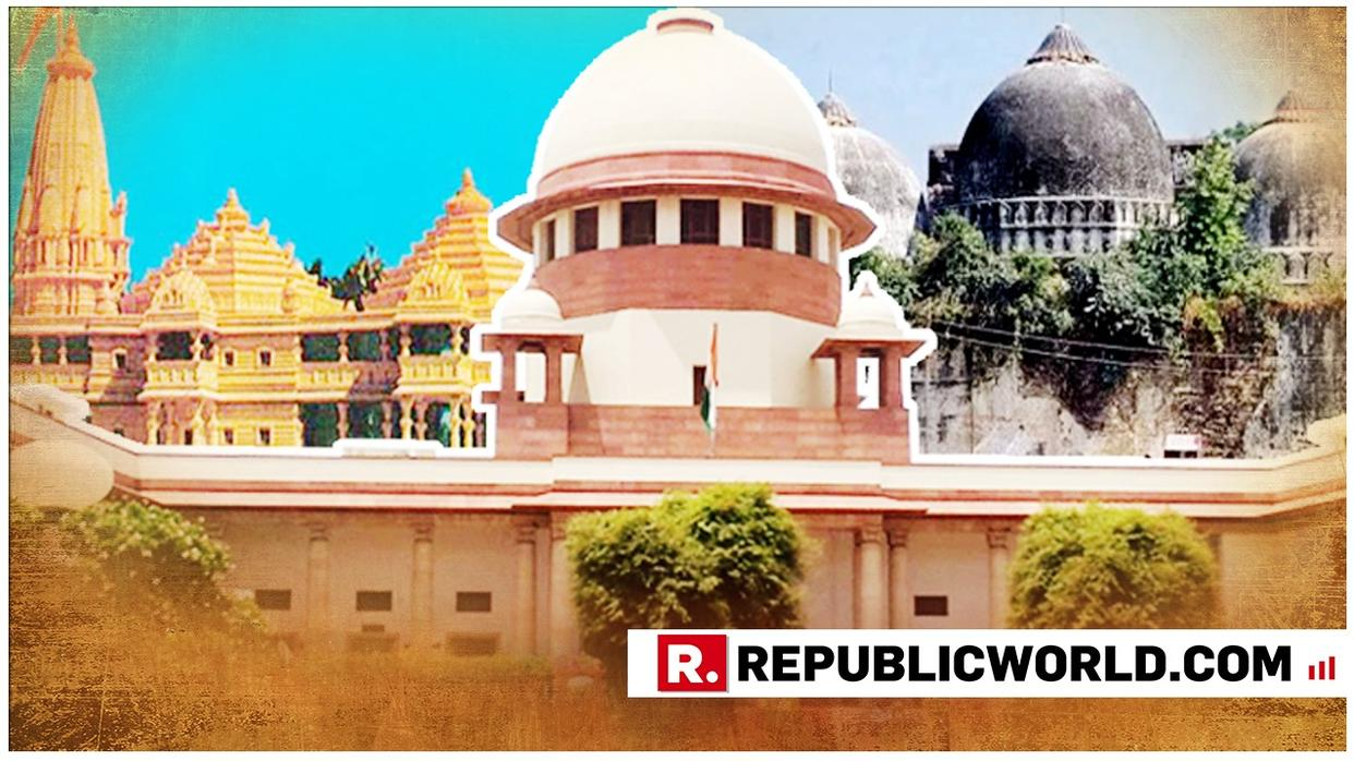 SC TO TAKE UP AYODHYA TITLE SUIT CASE. LIVE UPDATES