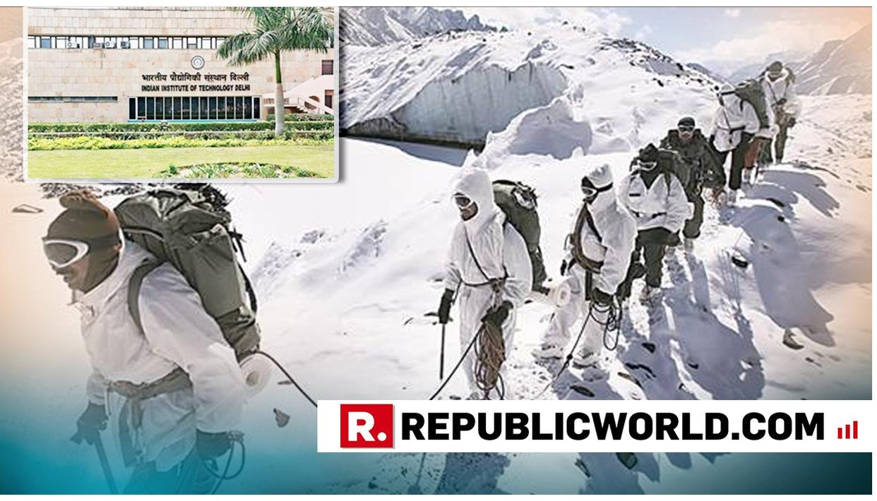 MADE IN INDIA: IIT DELHI DEVELOPS WATERLESS BODY BATH, INDIAN SOLDIERS IN SIACHEN LIKELY TO AVAIL IT