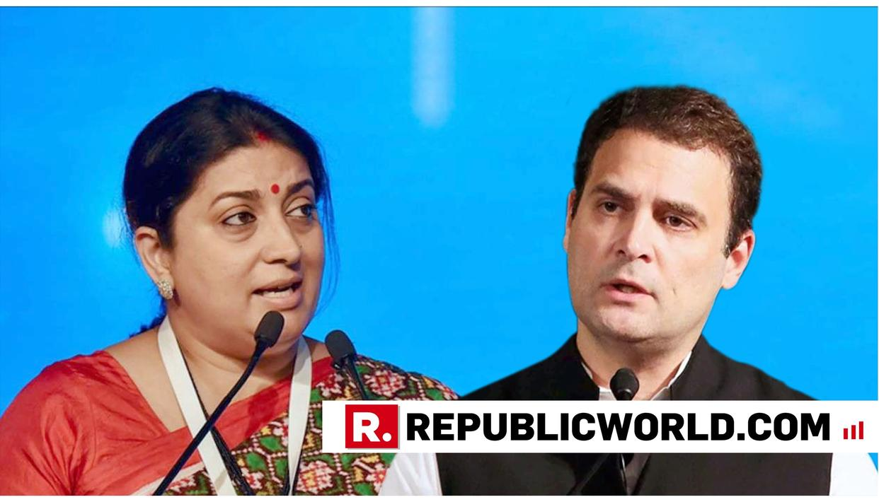 BIG SMRITI VS RAHUL FACEOFF IN AMETHI TODAY