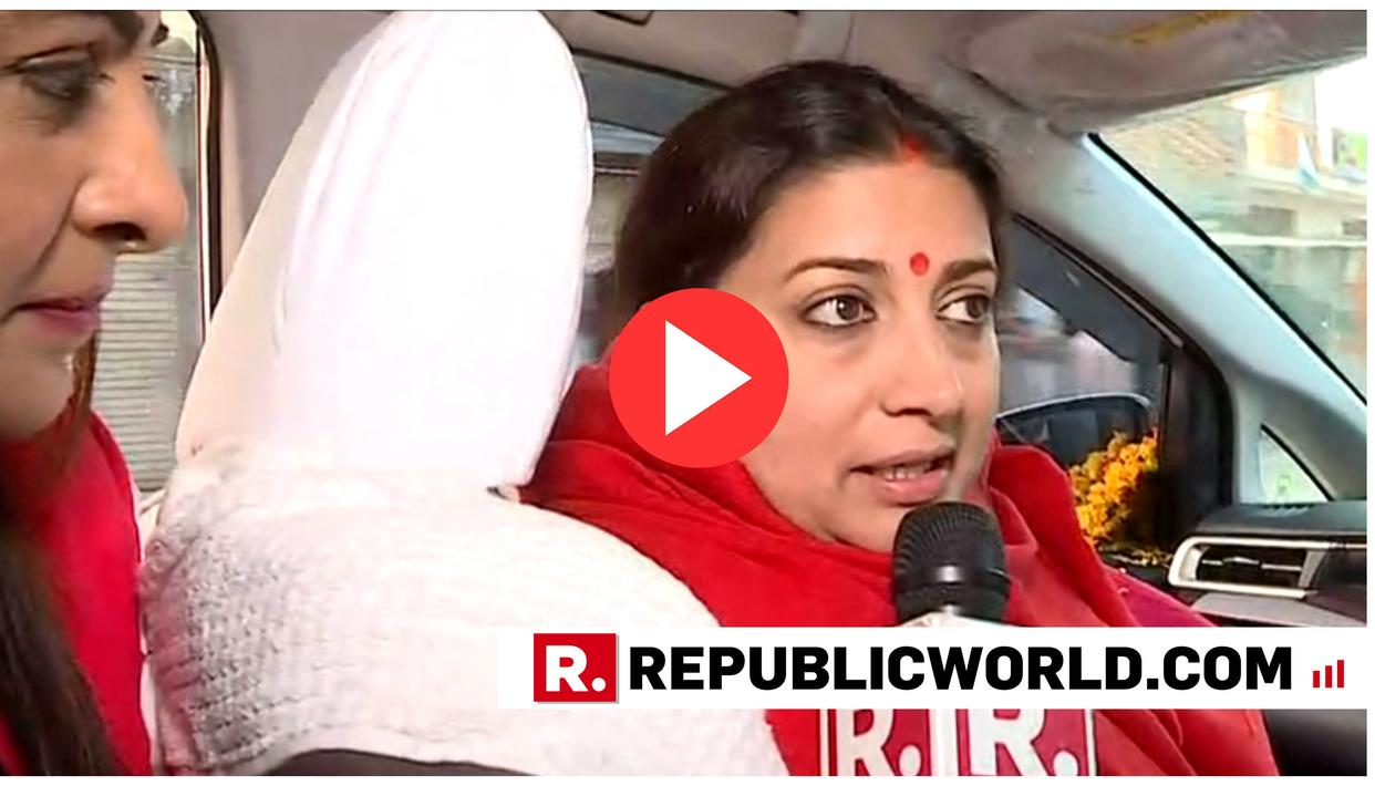 "WATCH | ""MARK MY WORDS, RAHUL GANDHI WILL LOSE IN 2019"": CONFIDENT SMRITI IRANI THUNDERS FROM AMETHI"