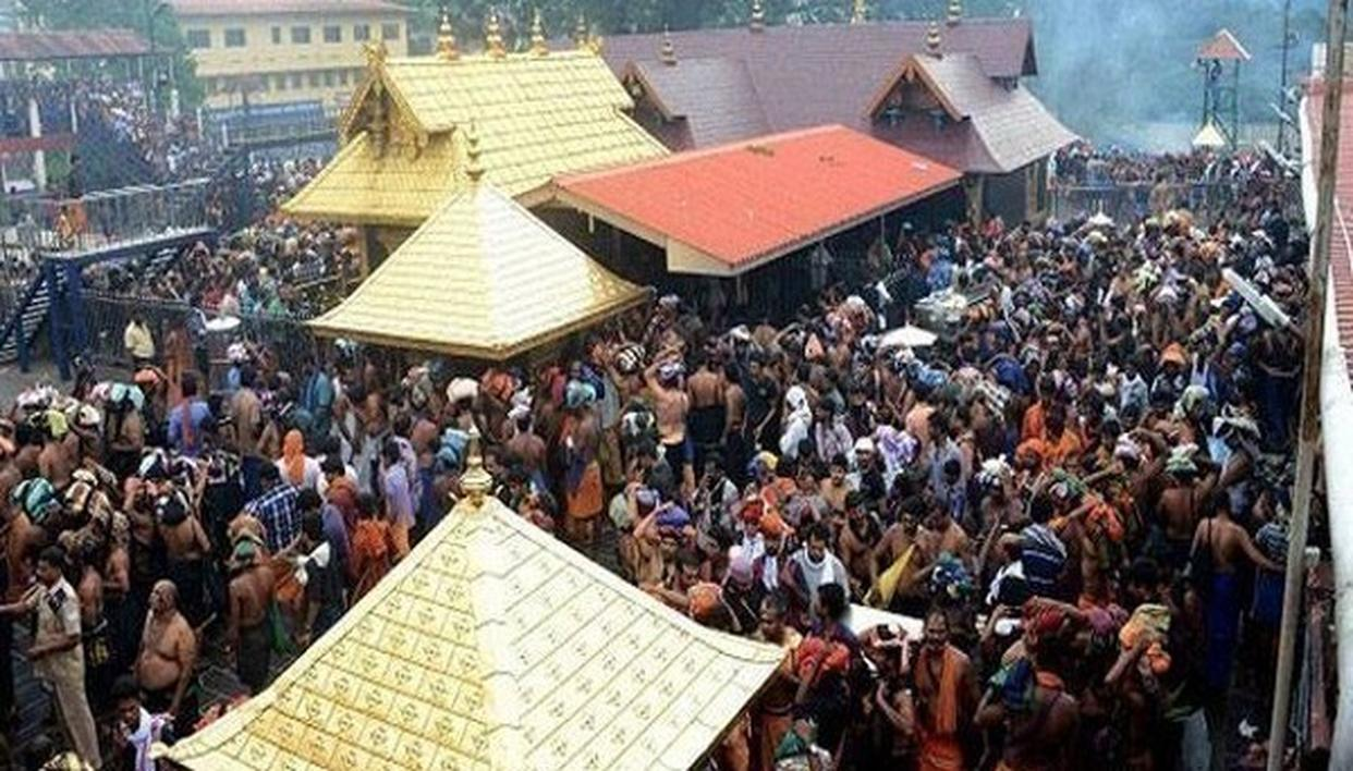 SABARIMALA KARMA SAMITI TO INTENSIFY PROTESTS ON WOMEN'S ENTRY INTO LORD AYYAPPA TEMPLE