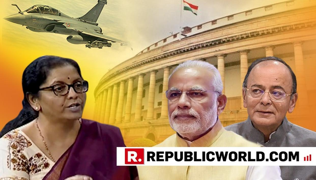 "FULL NIRMALA SITHARAMAN SPEECH: PM NARENDRA MODI HAILS DEFENCE MINISTER FOR ""DEMOLISHING CAMPAIGN OF CALUMNY ON RAFALE"". WATCH HERE"