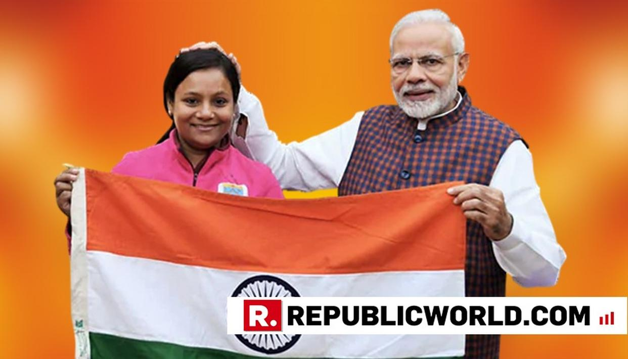 PM NARENDRA MODI CONGRATULATES DR ARUNIMA SINHA FOR BECOMING FIRST WOMAN AMPUTEE TO SCALE MOUNT VINSON
