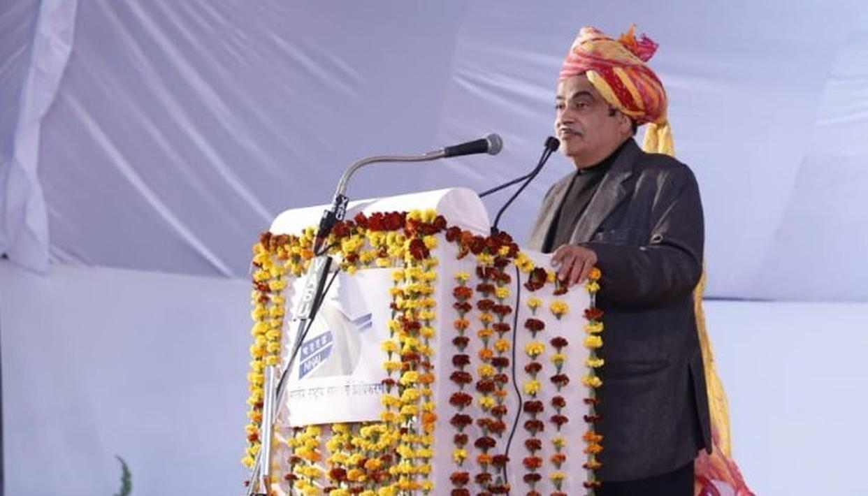 UNION MINISTER NITIN GADKARI INAUGURATES, LAYS FOUNDATION  FOR ROAD PROJECTS WORTH RS 6,000 CRORE IN JODHPUR