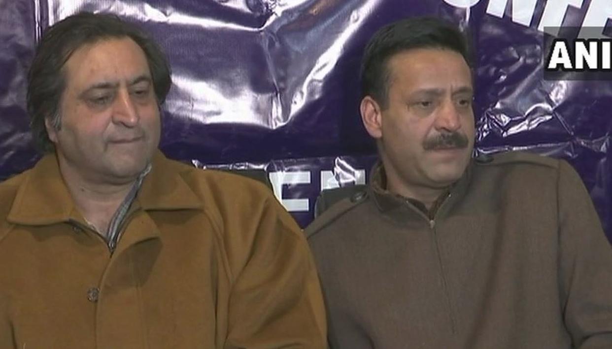 EX-PDP MLA ABBAS WANI JOINS SAJJAD LONE'S JAMMU AND KASHMIR PEOPLE'S CONFERENCE