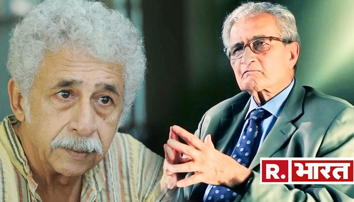 नसीरुद्दीन शाह के समर्थन में उतरे अर्थशास्त्री अमर्त्य सेन, कहा- ''हमें आवाज उठानी चाहिए''