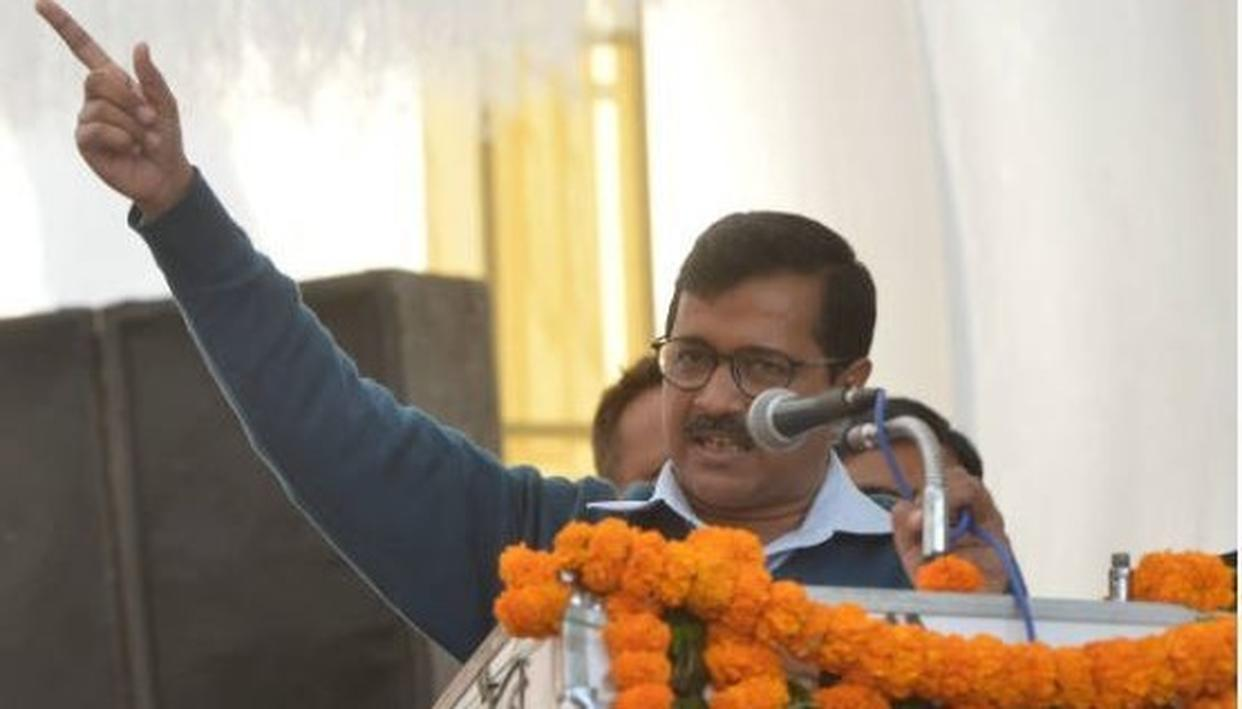 ARVIND KEJRIWAL WARNS PEOPLE AGAINST VOTING FOR CONGRESS IN LOK SABHA 2019 POLLS