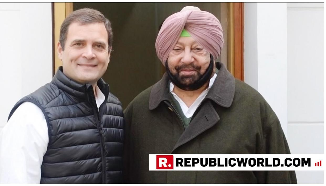 PUNJAB CM CAPT AMARINDER SINGH RULES OUT ALLIANCE WITH AAP, SAYS RAHUL GANDHI TO TAKE CALLS ON COALITION