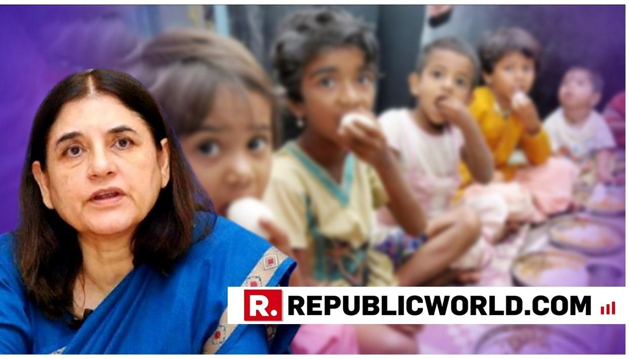THOSE INDULGING IN THEFT OF FOOD AT ANGANWADIS ARE TRAITORS: WCD MINISTER MENAKA GANDHI
