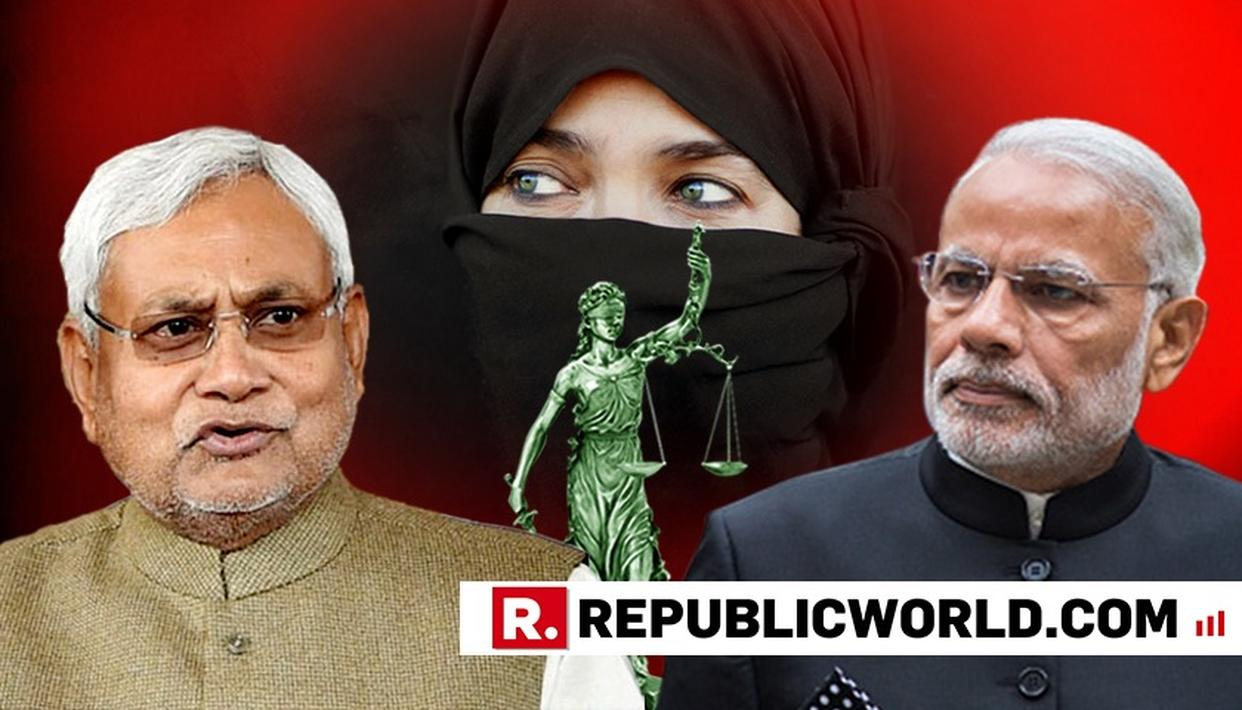 NITISH DISAPPROVES OF MODI GOVT'S STANCE ON TRIPLE TALAQ