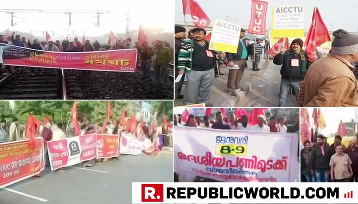 TWO DAY UNION STRIKE AFFECTS NORMALCY ACROSS COUNTRY