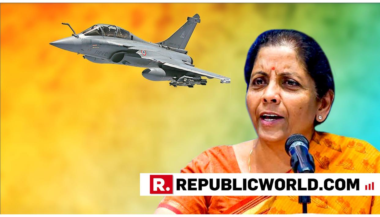 "WATCH: NIRMALA SITHARAMAN DEMANDS MINUTES-OF-MEETING OF RAHUL GANDHI WITH FORMER FRENCH PRESIDENT HOLLANDE, SAYS ""MAKE HIM SIT DOWN AND TELL THE MEDIA"""