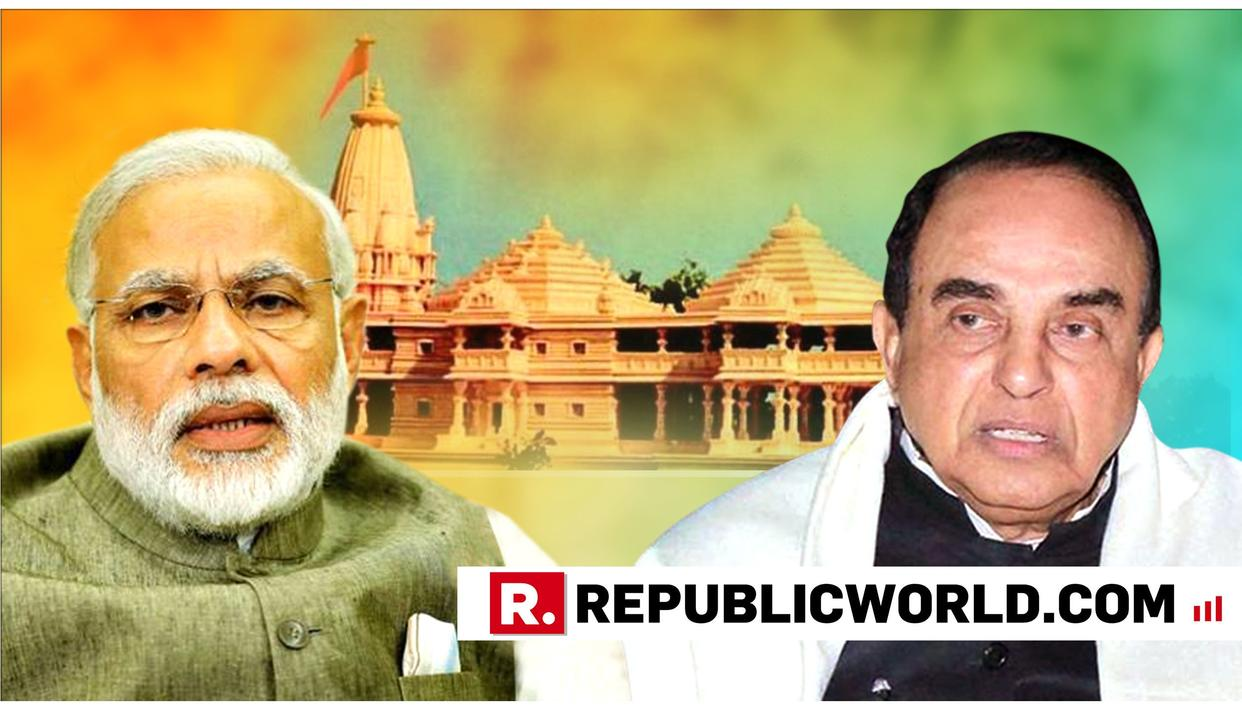 BEFORE SC HEARS AYODHYA CASE, DR SWAMY ISSUES ADVICE TO PM MODI