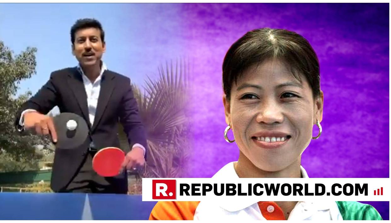 ACE BOXER MARY KOM SUPPORTS COL RATHORE'S #5MINUTEAUR CHALLENGE WITH AN INSPIRING MESSAGE. READ IT HERE