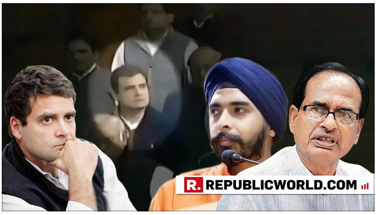 WATCH: TAJINDER BAGGA TAKES A JIBE AT RAHUL GANDHI