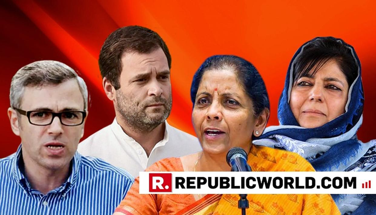 MEHBOOBA MUFTI CALLS OUT RAHUL GANDHI FOR MISOGYNISTIC COMMENTS, OMAR ABDULLAH JOIN IN