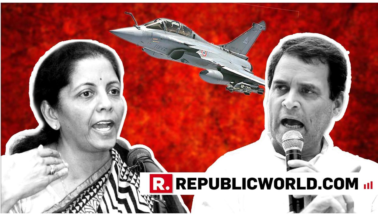 SEXISM, SLANDER AND CLASS-QUESTIONING: EACH TIME RAHUL GANDHI ANSWERED RAKSHA MANTRI NIRMALA SITHARAMAN'S RAFALE SUBMISSIONS WITH NON-FACT PERSONAL ATTACKS