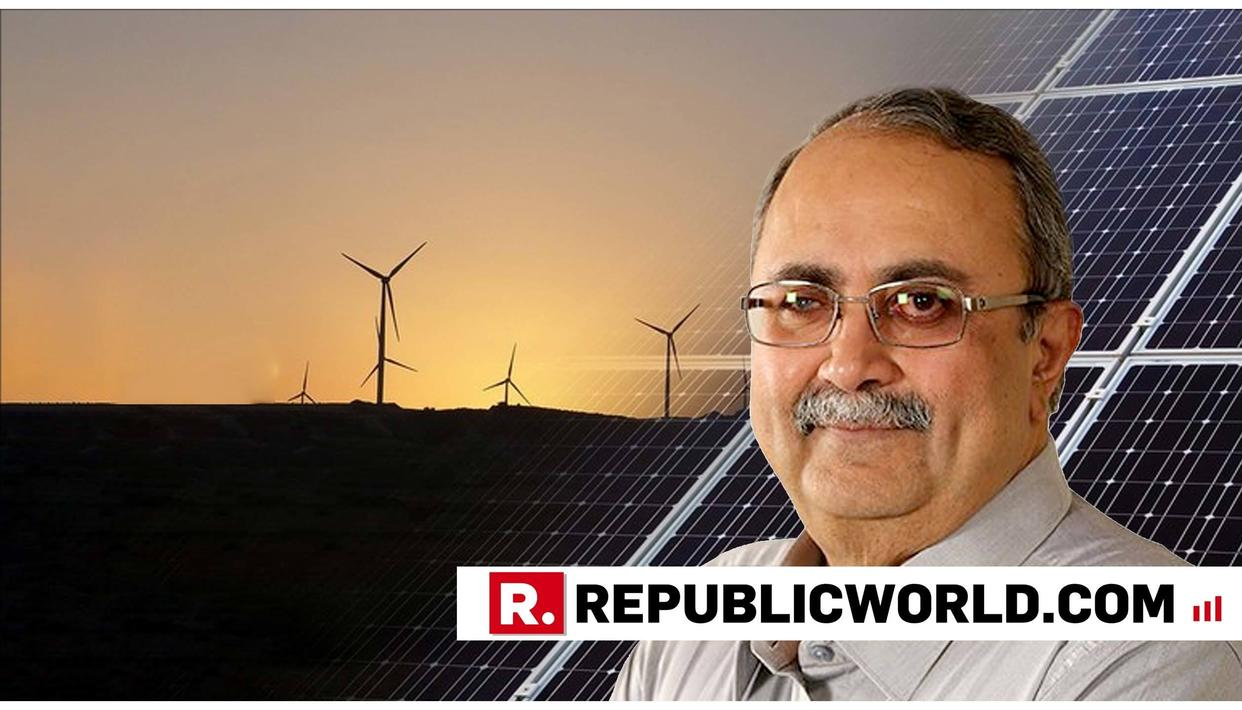GUJARAT GOVT EYES 2.20 LAKH CRORE INVESTMENT IN RENEWABLE ENERGY