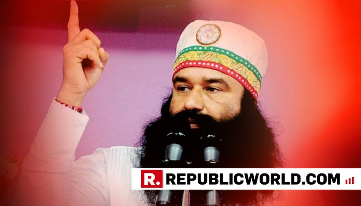 GURMEET RAM RAHIM AND THREE OTHERS CONVICTED FOR JOURNALIST RAM CHANDRA CHHATRAPATI'S MURDER