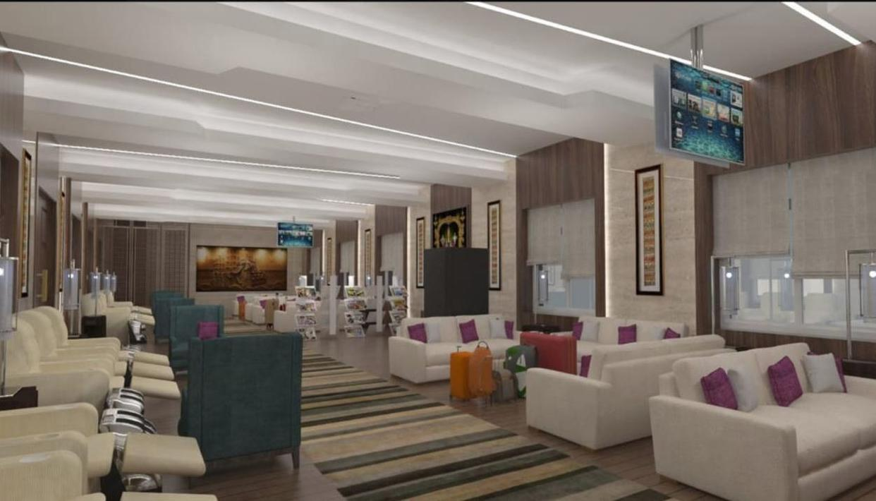 THESE PICTURES OF THE SOON-TO-BE-UNVEILED LOUNGE AT TIRUPATI RAILWAY STATION ARE LIKE NOTHING WE'VE EVER SEEN BEFORE