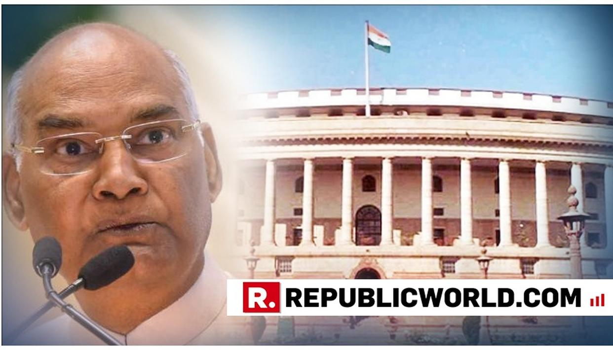 10% RESERVATION BILL GETS PRESIDENT RAM NATH KOVIND'S ASSENT; BECOMES A LAW
