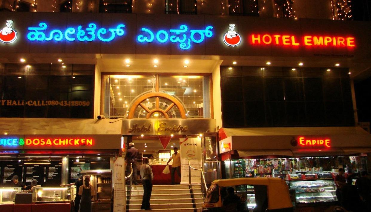 BENGALURU'S EMPIRE RESTAURANT VANDALISED