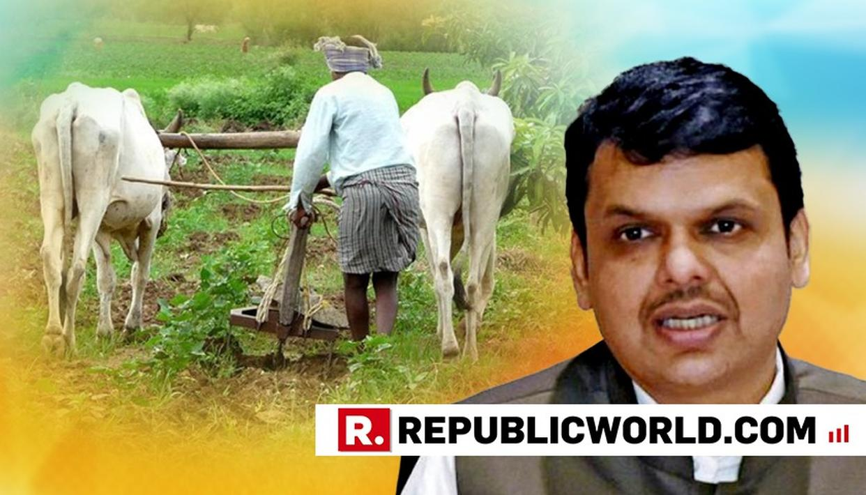 MAHA GOVT COMMITTED TO DOUBLE FARMERS' INCOME BY 2022: CM