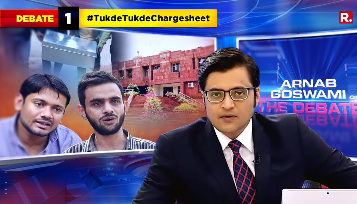 WATCH: HERE'S ARNAB'S TAKE ON DELHI POLICE FILING CHARGESHEET AGAINST TUKDE-TUKDE GANG