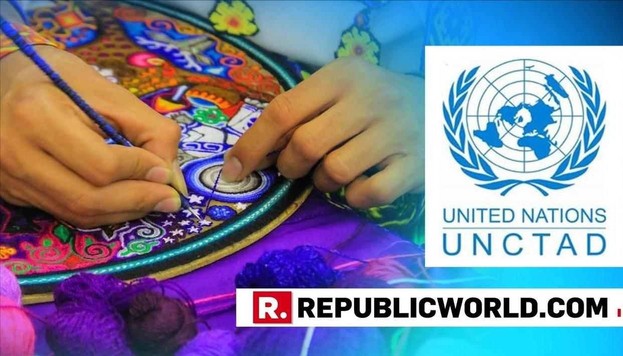 INDIA AMONG WORLD'S LEADING EXPORTERS OF CREATIVE GOODS: UN REPORT