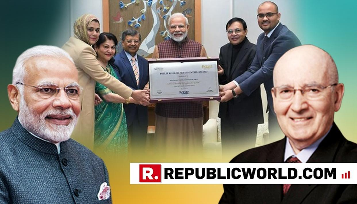 "PHILIP KOTLER EXPRESSES ""DEEP ADMIRATION OF PM MODI"" IN AN EMAIL"