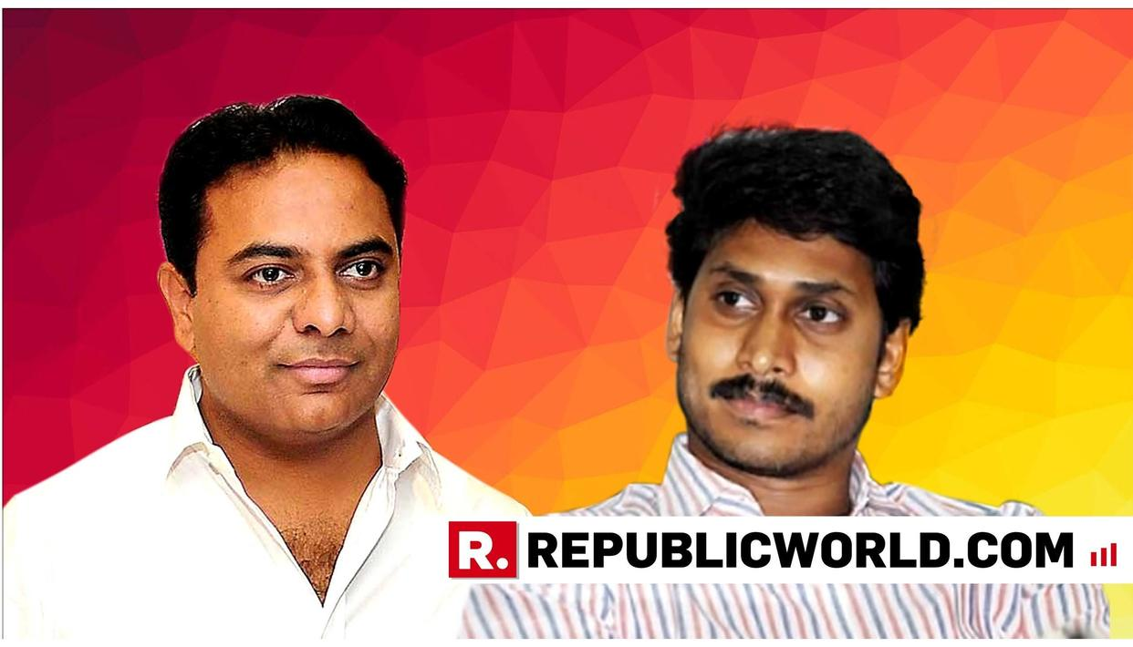 ALTERNATIVE FRONT TAKES SHAPE AS TRS' KT RAMA RAO AND YSRCP'S JAGAN MOHAN REDDY HOLD TALKS