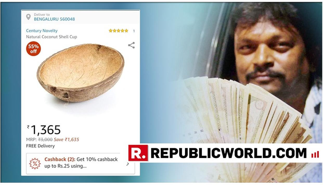 """TIME TO INVEST"": AMAZON SELLS HALF A COCONUT SHELL FOR OVER RS 1,365, INDIAN TWITTERVERSE GETS MILLION DOLLAR IDEA"