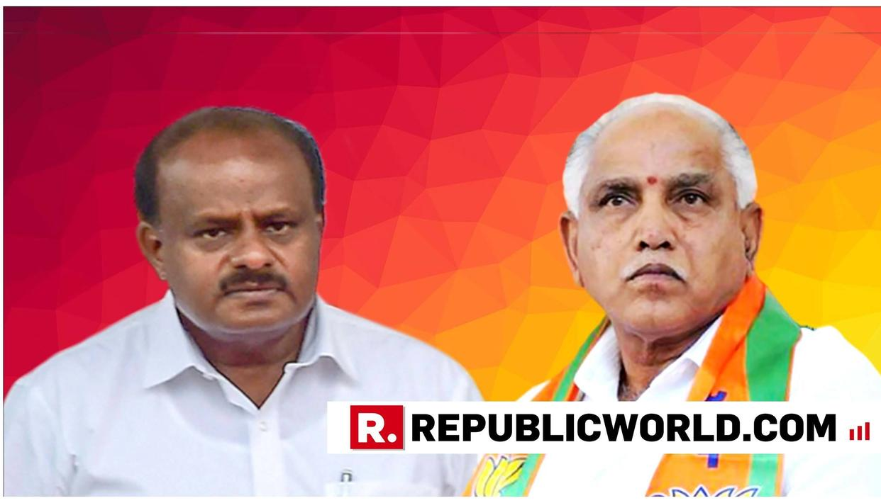 KARNATAKA CM HD KUMARASWAMY AND BJP STATE PRESIDENT BS YEDDYURAPPA ENGAGE IN WAR OF WORDS AMID POLITICAL UNREST