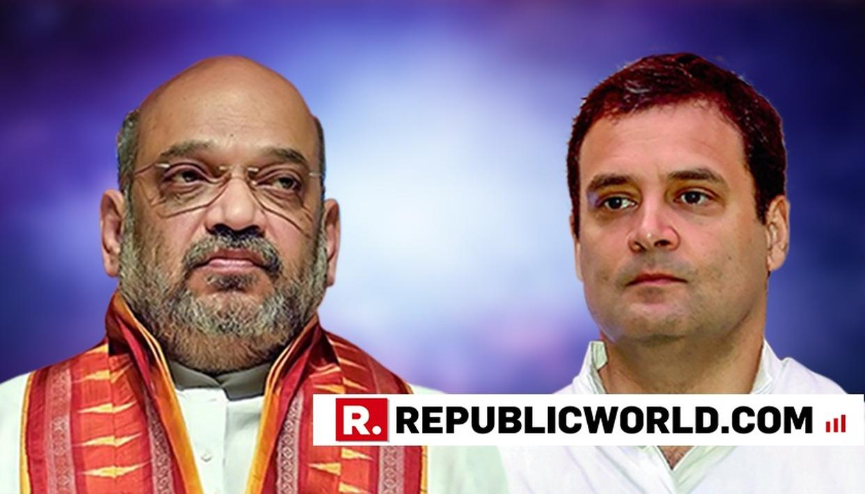 "BJP TEARS INTO RAHUL GANDHI AFTER CONGRESS'S SHOCKING 'SUWAR KA ZUKHAM' JIBE AT AMIT SHAH, SAYS THE ""ROGUE"" NEEDS TO LEARN HUMAN VALUES"