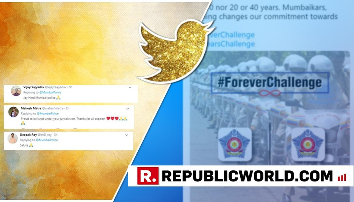 MUMBAI POLICE TAKES #10YEARCHALLENGE WITH A UNIQUE TWIST, MELTS MILLION HEARTS ON INTERNET